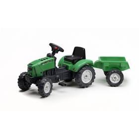 FALK Lander Z160X s vlečkou zelený + Doprava zdarma