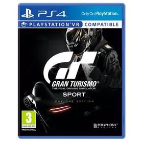 Sony PlayStation 4 Gran Turismo Sport + Digitální bonusový balíček (PS719832652)