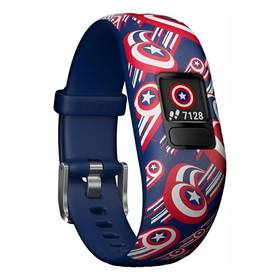 Garmin vívofit jr. 2, Captain America (010-01909-12)