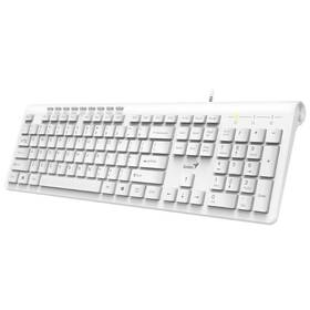 Genius Slimstar 230, CZ/SK layout (31310010407) bílá (vrácené zboží 8800701953)