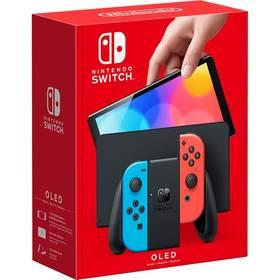 Nintendo SWITCH - OLED Model (Neon red & Blue set) (NSH007)