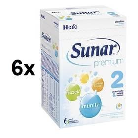 Sunar Premium 2, 600g x 6ks