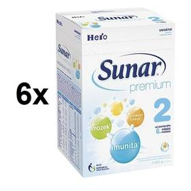 Sunar Premium 2, 600g x 6ks + Doprava zdarma