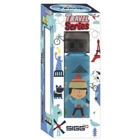 Sigg dětská Travel Boy Paris, 0.4L modrá + Doprava zdarma