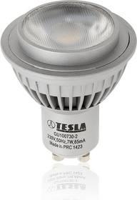 Tesla bodová, 7W, GU10, teplá bílá (GU100730-2)