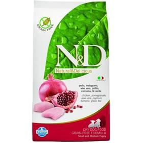 N&D Grain Free DOG Adult Maxi Chicken&Pomegranate 12 kg + Plastový kontejner na granule N&D Farmina v hodnotě 839 Kč + Doprava zdarma