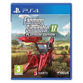 GIANTS software PS4 Farming Simulator 17 Platinum Edition CZ