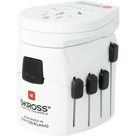 SKROSS PRO World & USB, 6,3A, (PA41) (422715) biely