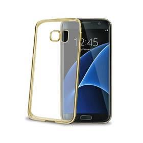 Celly Laser pro Samsung Galaxy S7 Edge (BCLS7EGD) zlatý