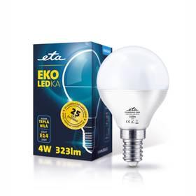 ETA EKO LEDka mini globe, 4W, E14, teplá bílá (G45-PR-323-16A)