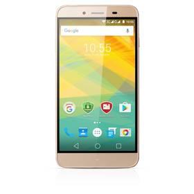 Prestigio Grace Z3 Dual SIM (PSP3533DUOGOLD) zlatý