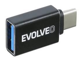 Evolveo USB/USB-C (ADAPTER-USB-C-USB-A) černá