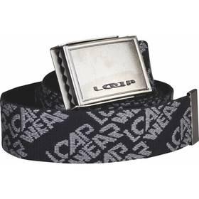 Pásek sportovní Loap Rosello 125 cm - černá/šedá
