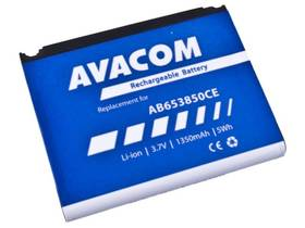 Avacom pro Samsung SGH-i900, Li-Ion 3,7V 1350mAh (náhrada AB653850CE) (GSSA-i900-S1350A)