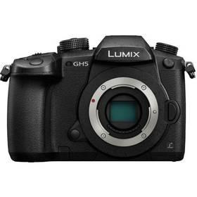 Panasonic Lumix DC-GH5EG-K černý + Doprava zdarma
