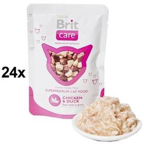 Brit Care Chicken & Duck Pouch 24 x 80g