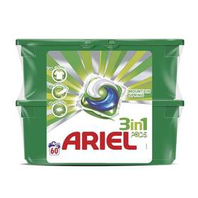 Ariel Mountain Spring gelové kapsle 60 ks