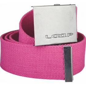 Pásek sportovní Loap Orria 125 cm - růžová