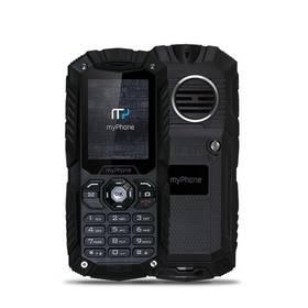 myPhone HAMMER PLUS Dual SIM (TELMYHHAPBK) černý SIM s kreditem T-mobile 200Kč Twist Online Internet (zdarma)
