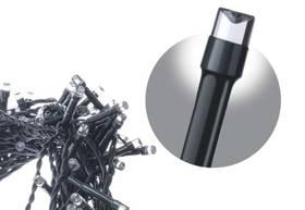 EMOS 500 LED, 50m, řetěz, studená bílá, časovač, i venkovní použití (1534080065)