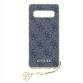 Guess Charms Hard Case 4G pro Samsung Galaxy S10 (GUHCS10GF4GGR) šedý