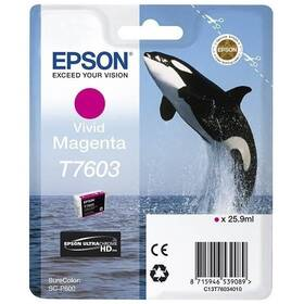 Epson T7603, 25,9 ml (C13T76034010) červená