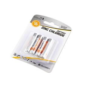 Baterie zinkochloridová GoGEN AAA, R03, blistr 4ks (R03ZINC4)