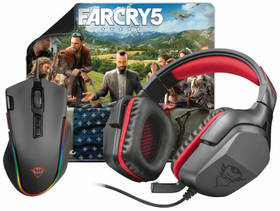 Trust GXT Gaming 3v1 (headset, myš, podložka) + Hra Far Cry 5 ZDARMA (22874)