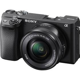 Sony Alpha 6400 + 16-50 čierny
