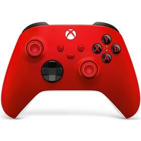 Microsoft Xbox Series Wireless (QAU-00012) červený