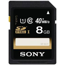 Pamäťová karta Sony SDHC Performance 8GB UHS-I U1 (40MB/s) (SF8U)