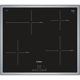 Bosch PIF645BB1E černá/nerez + Doprava zdarma