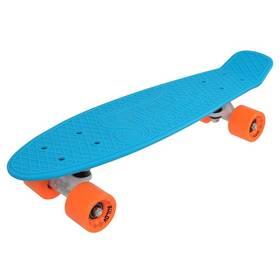"Penny board Sulov 22"" NEON SPEEDWAY sv.modrý/oranžový"