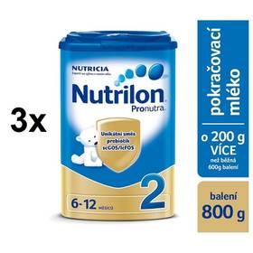 Nutrilon 2 Pronutra, 800g x 3ks + Doprava zdarma