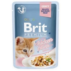 Brit Premium Cat D Fillets in Gravy for Kitten 85 g