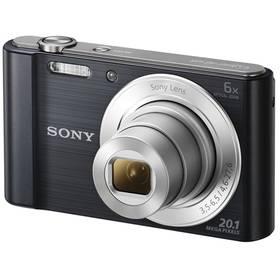 Sony DSC-W810B černý + Doprava zdarma