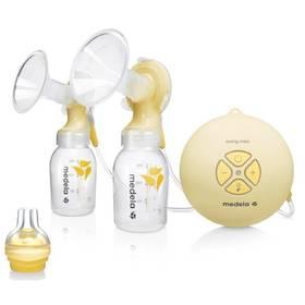 Medela Swing Maxi - 2-fázová včetně Calma systému žlutá/bílá/transparentní + Doprava zdarma