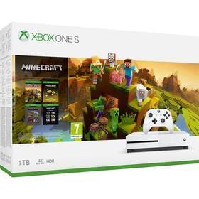 Microsoft Xbox One S 1 TB + Minecraft Holiday (234-00664)