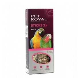 Pet Royal Velký papoušek ořech-kokos stick 2 ks