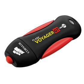 USB Flash Corsair Voyager GT (CMFVYGT3C-128GB) černý/červený