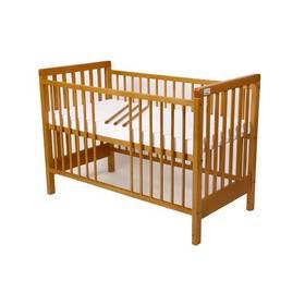 For Baby Věra vyndavací příčky buk Matrace do postýlky For Baby 120x60 cm - bílá (zdarma)
