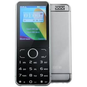 Mobilný telefón CUBE 1 F200 (022225) čierny/strieborný