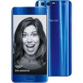 Honor 9 Dual SIM 64 GB (51091TBG) modrý SIM s kreditem T-Mobile 200Kč Twist Online Internet (zdarma)Software F-Secure SAFE 6 měsíců pro 3 zařízení (zdarma) + Doprava zdarma