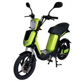 Elektrický motocykl RACCEWAY E-BABETA, zelený-metalíza