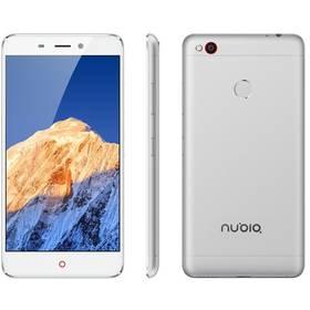 Nubia N1 DualSIM 64 GB (6902176900532) stříbrný/bílý + Doprava zdarma