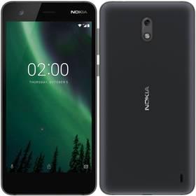 Nokia 2 Dual SIM (11E1MB01A13) černý SIM s kreditem T-Mobile 200Kč Twist Online Internet (zdarma)Software F-Secure SAFE, 3 zařízení / 6 měsíců (zdarma)