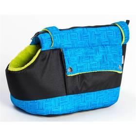 Samohýl Zara textil 30cm modrá/zelená