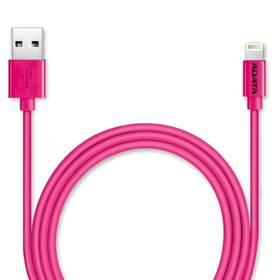 ADATA Sync & Charge USB/Lightning, 1m, MFi (AMFIPL-100CM-CPK) ružový