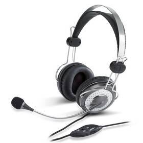 Genius HS-04SU (31710045100) černý/stříbrný