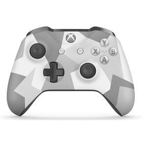 Microsoft Xbox One S Wireless - bílo / sivá maskáčová (WL3-00044)